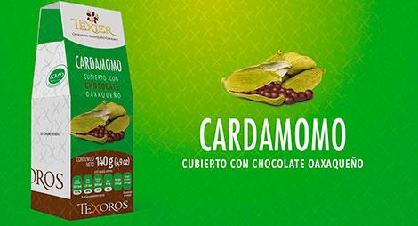Imagen miniatura de Cardamomo cubierto con Chocolate oaxaqueño Texier