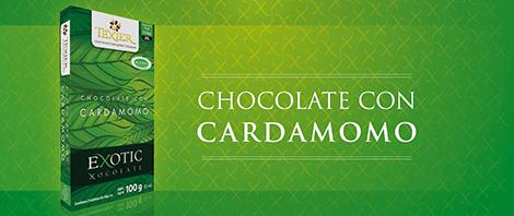 Imagen de Exotic Tablets Chocolate con Cardamomo Texier